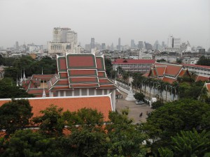 View from the Golden Mount, Bangkok