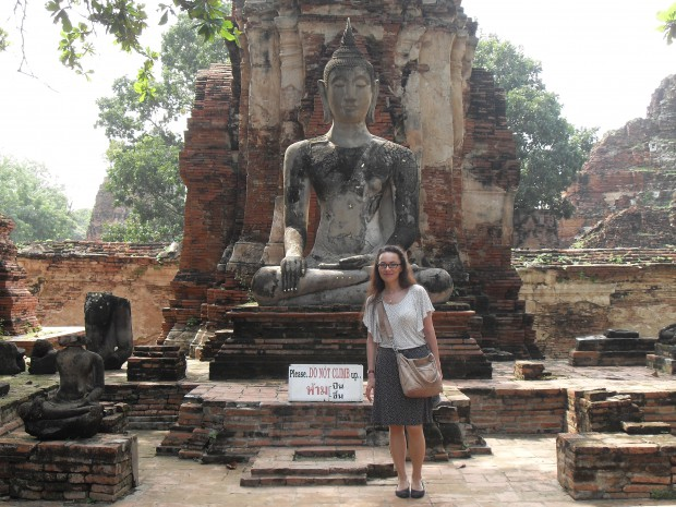 At Wat Mahathat, Ayutthaya